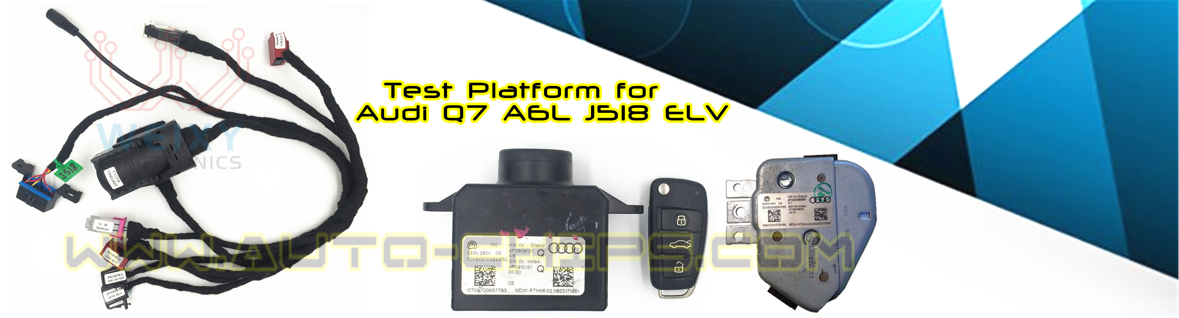 Test Platform for Audi Q7 A6L J518 ELV